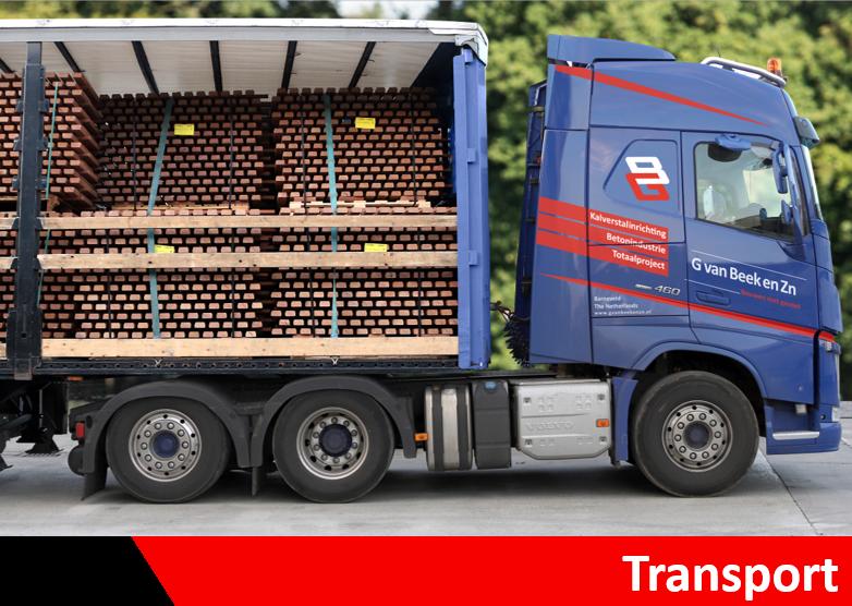 Transport kalverstalinrichting