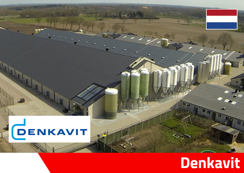 Denkavit moderne kalverstal Denkafarm Voorthuizen